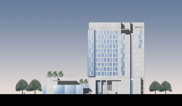 Hyatt Regency Guwahati - East Elevation